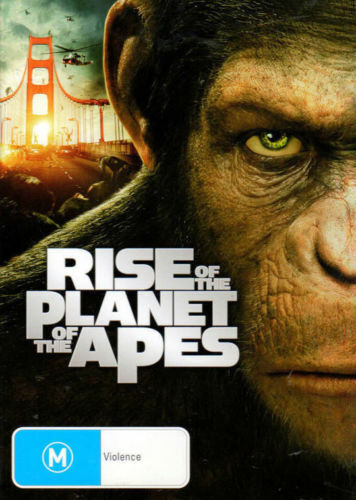 RISE OF THE PLANET OF THE APES - BRAND NEW SEALED DVD (2011, JAMES FRANCO)