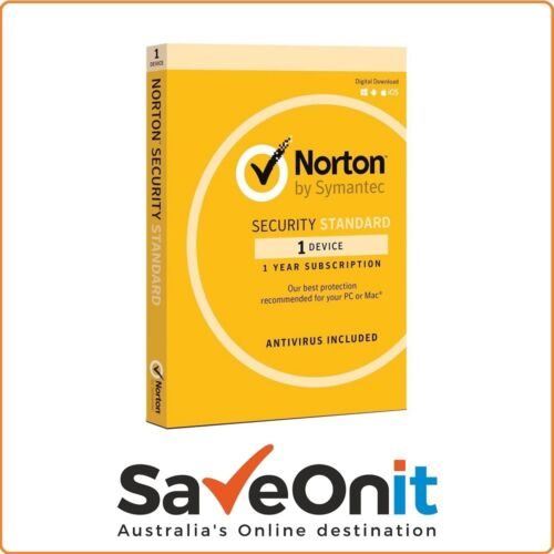 Norton Internet Security Standard 2020 1 device 1 Year digital Email License Key