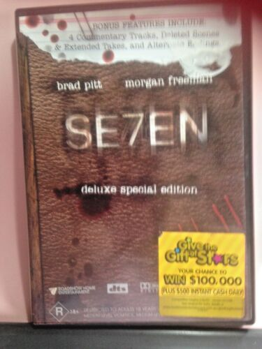 Seven (DVD, 2010, 2-Disc Set) PRE-OWNED