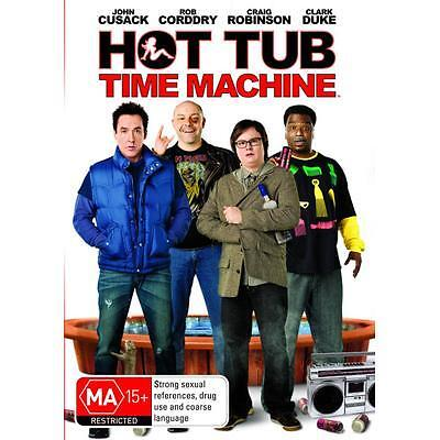 HOT TUB TIME MACHINE - BRAND NEW & SEALED DVD  (JOHN CUSACK, CHEVY CHASE)