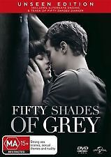 FIFTY SHADES OF GREY - BRAND NEW & SEALED REGION 4 DVD (UNSEEN EDITION)