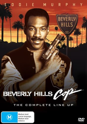 Beverly Hills Cop 1 3 Box Set DVD Region 4 NEW