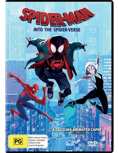 Spider Man Into the Spider verse DVD Region 4 NEW