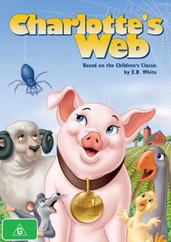 Charlottes Web DVD Region 4 NEW