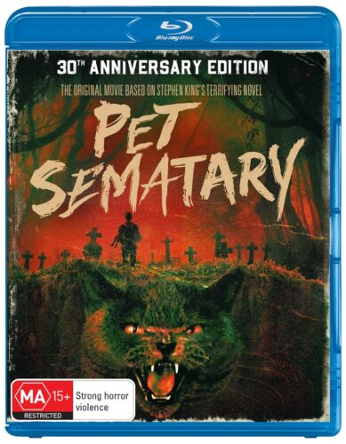 Pet Sematary 30th Anniversary Edition Blu-ray Region B NEW
