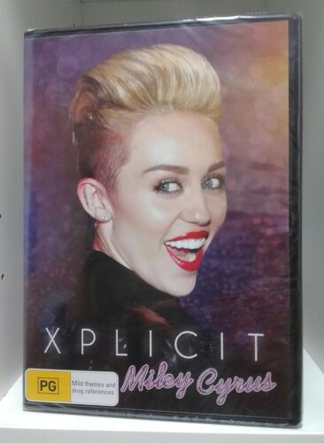 Miley Cyrus : Xplicit (DVD, 2015) Region 4, New & Sealed, Life and Career of