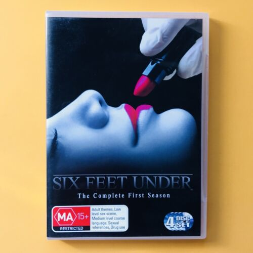 SIX FEET UNDER SEASON 1 / 4 Disc Set DVDs /GOOD USED CONDITION
