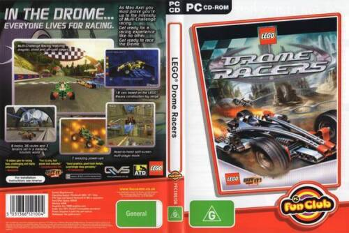 BRAND NEW LEGO PC GAME DROME RACERS 9 TRACKS 36 ROUTES FOR WINDOWS 95/98