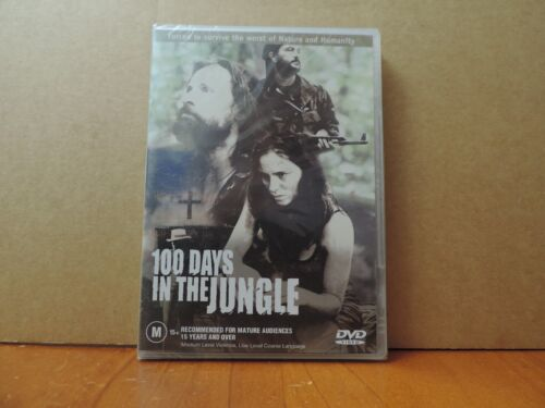 100 Days In The Jungle (DVD, 2003) brand new and sealed