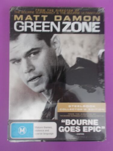Green Zone (DVD, 2010) STEEL CASE COLLECTORS EDITION BRAND NEW FACTORY SEALED