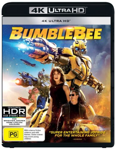 Bumblebee 4K Ultra HD Blu-ray UHD Region B NEW
