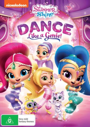 Shimmer and Shine Dance Like a Genie DVD Region 4 NEW