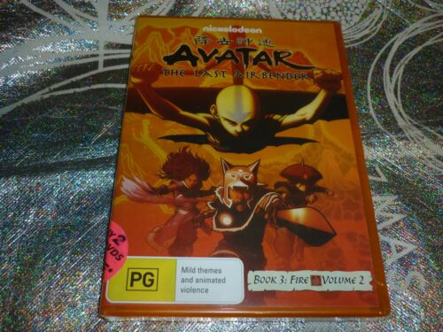AVATAR THE LAST AIRBENDER BOOK 3 : FIRE - VOLUME 2 (NEW SEALED) (DVD, PG)