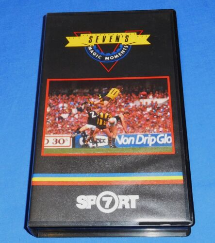 1988 Sevens Magic Moments VFL AFL Football Footy VHS Video Channel 7 HSV 30 Min