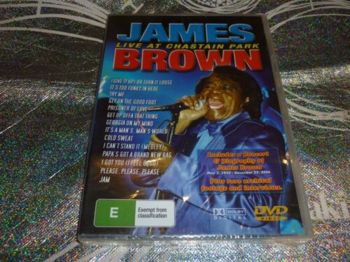 JAMES BROWN LIVE AT CHASTAIN PARK (DVD, E) (N/N A)