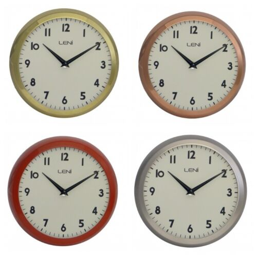 Boyle Leni Home Decor Stylish School Wall Clock 23cm