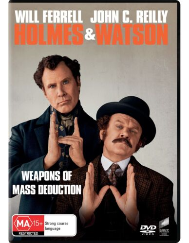 Holmes and Watson DVD Region 4 NEW