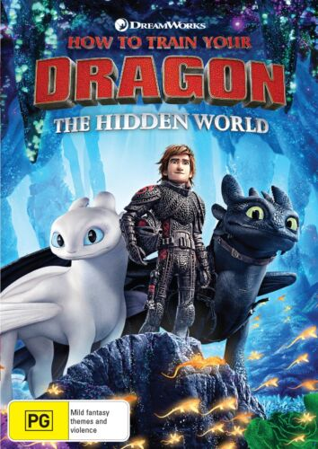 How to Train Your Dragon The Hidden World DVD Region 4 NEW