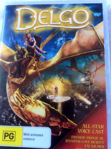 Delgo (DVD, 2010) PRE-OWNED