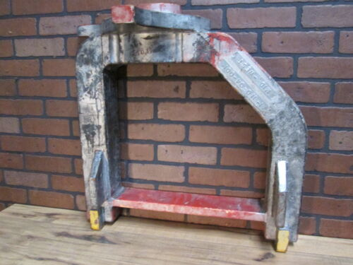 """Vintage Industrial Wooden Huge Foundry Mold Early 1900's 26"""" by 25"""" Tin Tags"""