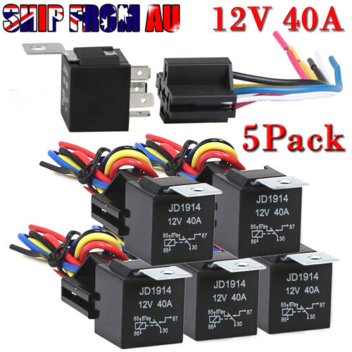 40 amp relay | Got Free Shipping? (AU)  Amp Automotive Relay Wiring on