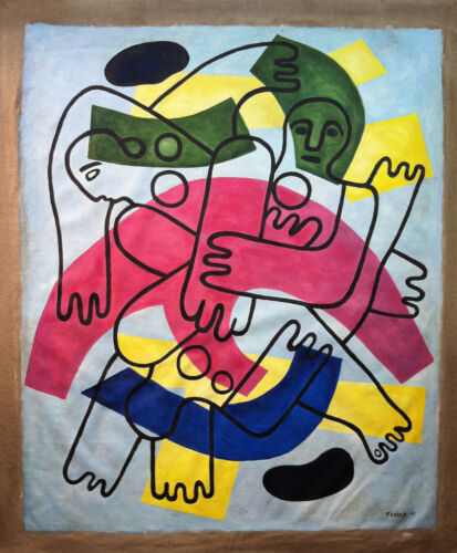 FERNAND LEGER Painting on canvas