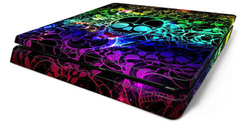 Phantom world skull F5176 SONY PS4 Slim Decal SKIN PROTECTIVE CONSOLE CONTROLLER