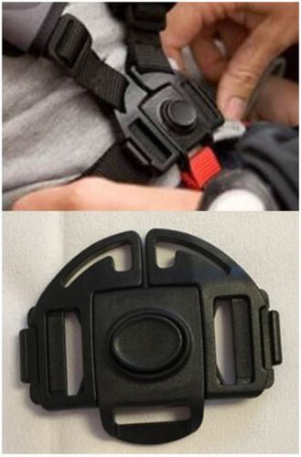 Evenflo Minno Baby Stroller 5 Point Buckle Harness Clip Replacement Part Safety