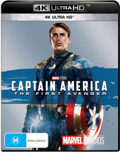 Captain America: The First Avenger (4K UHD)  - BLU-RAY - NEW Region B