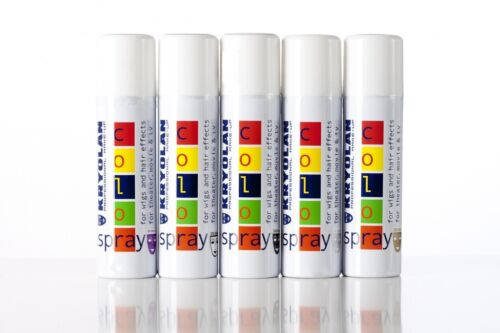 Color Spray per Capelli Kryolan Professional 150ml made in Germany - varie tinte