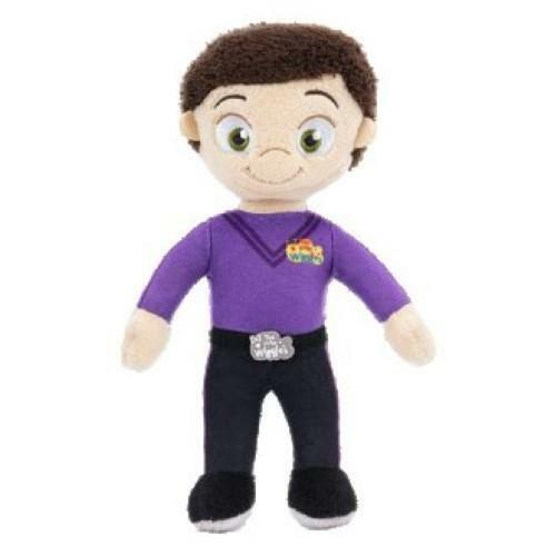 NEW Little Wiggles Plush Rattle Doll - Lachy - 22cm - Baby Gift