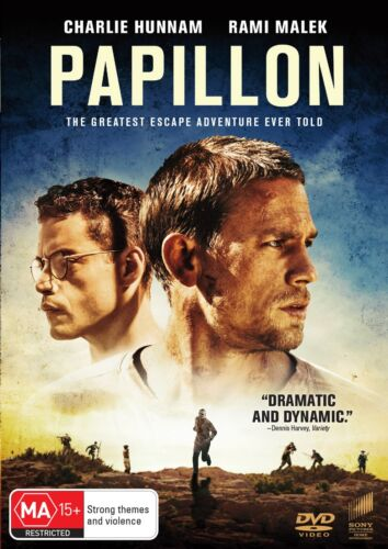 Papillon DVD Region 4 NEW