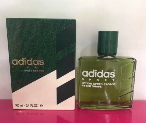 Adidas Sport After Shave Lotion 100ML Splash (No Spray) Vintage New & Rare