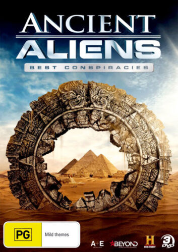 Ancient Aliens: Best Conspiracies (History)  - DVD - NEW Region 4