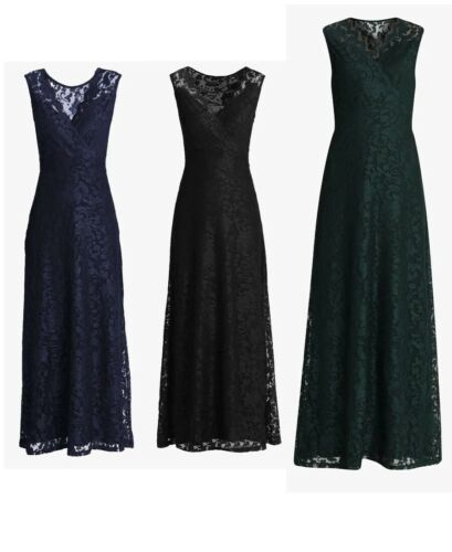 Anna Field Occasion wear Women's Cocktail Long Lace Dresses  Black, Green, Navy