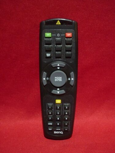 BENQ PROJECTOR REMOTE CONTROL EN-60825-1 WITH LASER POINTER WORKS WELL SPARE