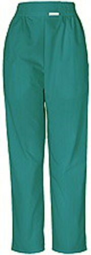 """CHEROKEE PULL ON HIGH WAISTED BOXER STYLE 190 TROUSERS TEAL GREEN WAIST 38/40"""""""
