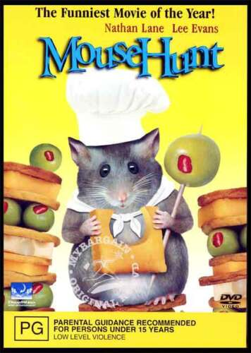 MOUSEHUNT - BRAND NEW & SEALED COMEDY DVD (REGION 4) - NATHAN LANE