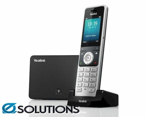 Yealink W56P Wireless IP-DECT Phone including Base Station and 1 Handset
