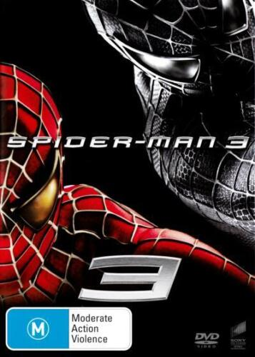 SPIDER-MAN 3 - NEW & SEALED DVD (TOBEY MAGUIRE, JAMES FRANCO) SPIDERMAN 3