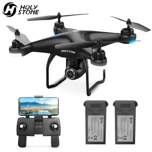 Holy Stone HS120D FPV Drones with 1080p HD Camera GPS RC Quadcotper Follow Me <br/> $20 OFF✔ FPV Real-Time✔ Return Home✔ 120° Wide Angel