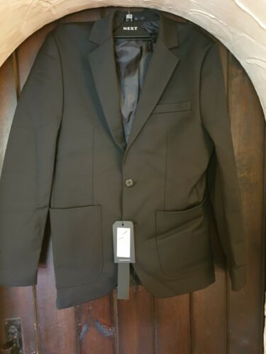 Selected Homme Micro SHXONE Suit Jacket, Black UK SIZE 38R BNWT RRP £150