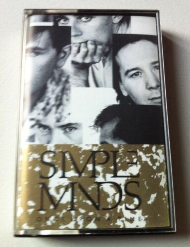 SIMPLE MINDS  - Once Upon a Time. Cassette Tape.