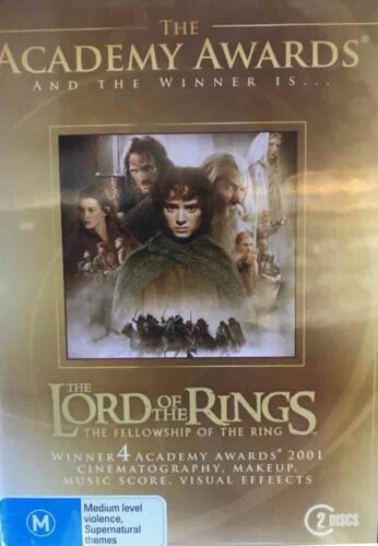The LORD of the RINGS The Fellowship Of The Ring DVD PAL 4 Region 4: 2 Discs M