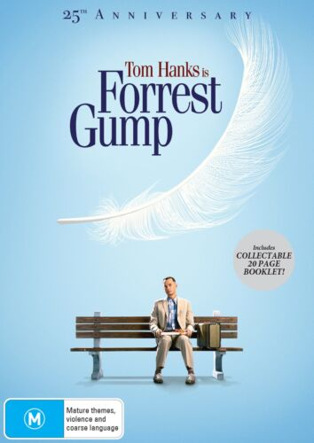 Forrest Gump 25th Anniversary Edition DVD Region 4 NEW