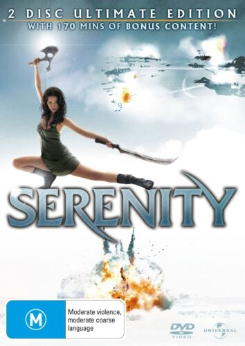 Serenity DVD Region 4 NEW
