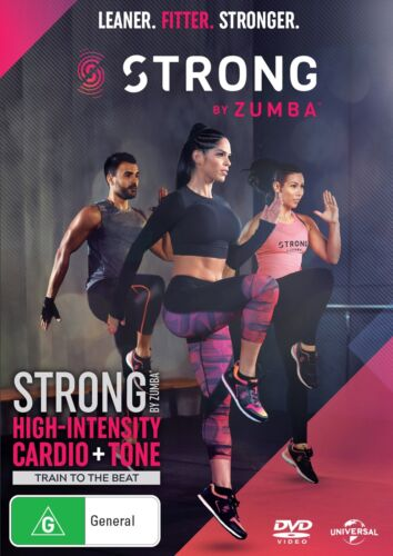 Strong By Zumba DVD Region 4 NEW