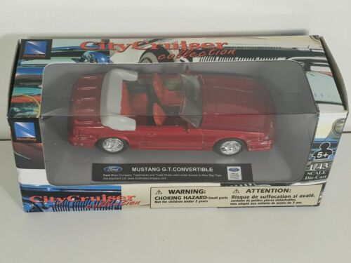 Voiture américaine 1/43 City Cruiser Collection NewRay Ford GT G.T Convertible
