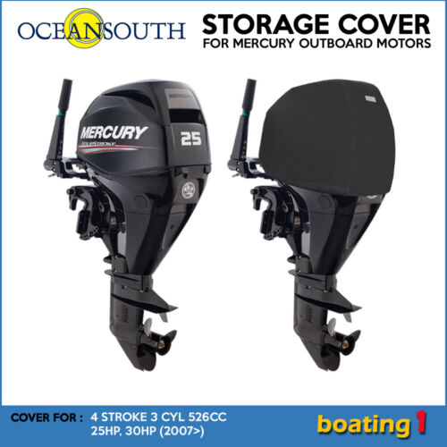 Outboard Motor Cover for 15-30HP High Quality UV Proof Polyester Marine 506741