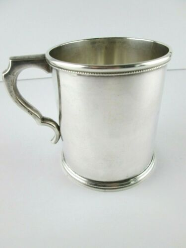 A Southern Coin Silver Mug by Hayden & Whilden, Charleston, S.C.